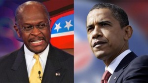 Can you imagine a Cain - Obama Faceoff?