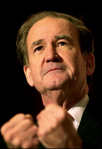 Pat Buchanan is a racist